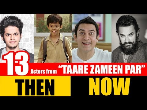 "13 Bollywood Actors from ""TAARE ZAMEEN PAR"" 2007 