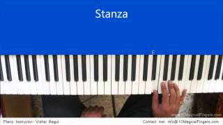 Chahun Main Ya Na Piano Tutorial  by Vishal Bagul | Melody | Chords | Arpeggios