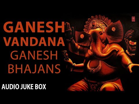 Video Ganesh Vandana, Ganesh Bhajans Full Audio Songs Juke Box download in MP3, 3GP, MP4, WEBM, AVI, FLV January 2017