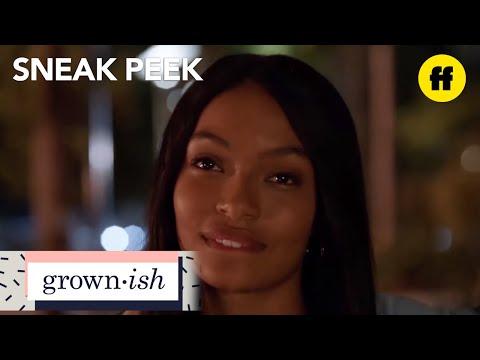 grown-ish | season 1, episode 3 sneak peek: 🍆🍆🍆 | freeform
