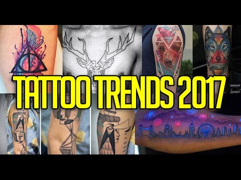 TOP 10 TATTOO TRENDS 2017 | TRENDING | BARTMANN