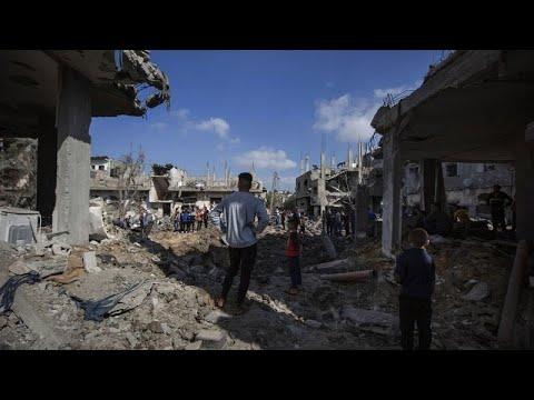Les raids israéliens s'intensifient à Gaza
