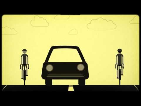 Vídeo educativo, que explica de una manera muy sencilla la normativa de tráfico específica sobre los adelantamientos de los vehículos a los ciclistas. Vídeo realizado por: La Gotera Producciones.