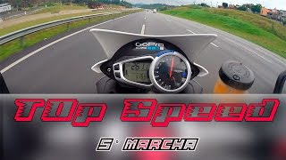6. TOP SPEED 5° marcha | Speed triple 1050