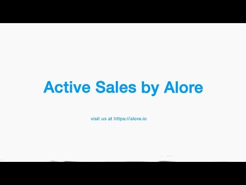 Active Sales by Alore - Intro Video