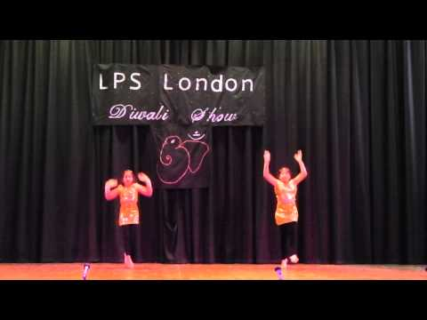 LPSoL Diwali Show 2013 Performance by Ria & Shriya Patel
