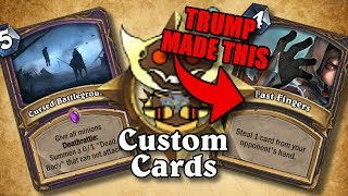 TOP CUSTOM CARDS OF THE WEEK #17 | Card Review | Hearthstone