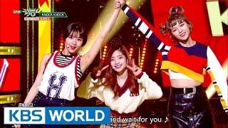 TWICE (트와이스) - Knock Knock [Music Bank HOT Stage / 2017.03.03]