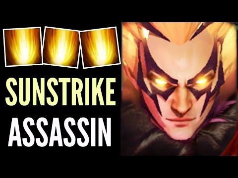 Pro Invoker SunStrike Assassin by SumiYa Perfect Combos Gameplay 7.02 Dota 2
