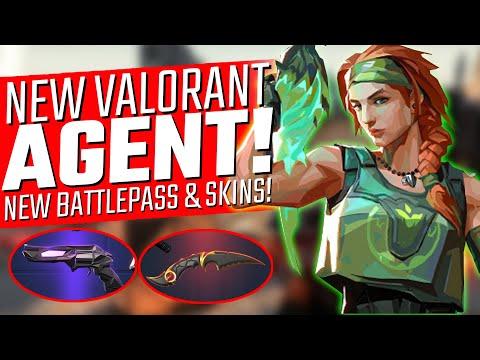 NEW Valorant Agent! - Act III Battlepass & SKINS!