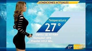 Garcia Mexico  city photo : Mexican Weather Girl Yanet Garcia Breaks The Internet