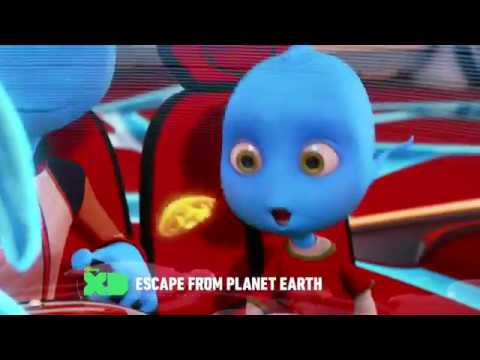 Escape from Planet Earth - Saturday at 4PM on Disney XD (Promo; 1080p HD)