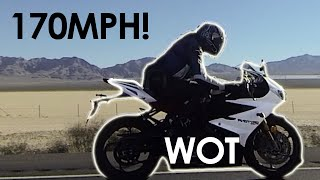 9. 7 miles in 3 minutes? WOT on Daytona 675R at TOP SPEED w/ throttle pinned! 2KHD