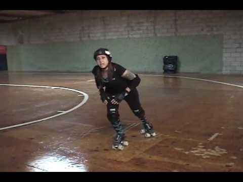 Roller Derby – How to do a Power Slide