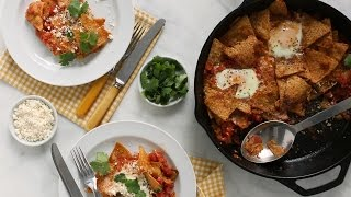 Tomato and Green Chiles Chilaquiles- Everyday Food with Sarah Carey by Everyday Food