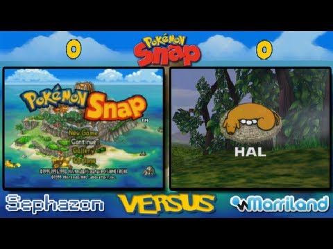 Pokemon - What's this?! It's not just Pokémon Snap, it's Pokémon Snap VERSUS, meaning I'm competing against Sephazon in a run through of the game to see who can accrue...