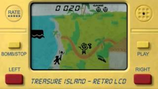 Treasure Island LCD Retro YouTube video