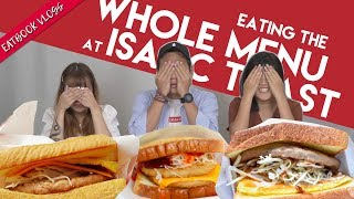 Video TRYING ALL OF ISAAC TOAST IN SG! | Eatbook Vlogs | EP 64 MP3, 3GP, MP4, WEBM, AVI, FLV November 2018