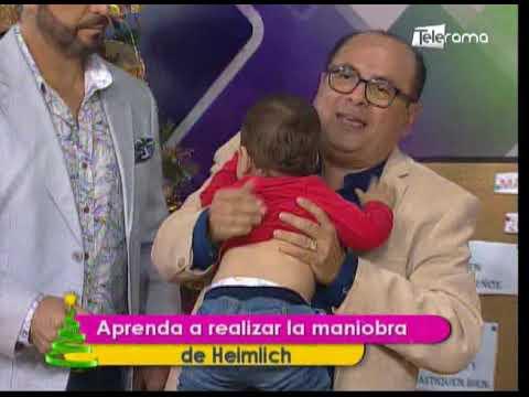 Aprenda a realizar la maniobra de Heimlich