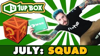 SQUAD | 1UP Box Opening | July 2016 Theme w/Ace Trainer Liam by Ace Trainer Liam