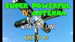 Video ANTENNA HDTV MANUFACTURED AT HOME * Powerful Reception * MP3, 3GP, MP4, WEBM, AVI, FLV November 2018