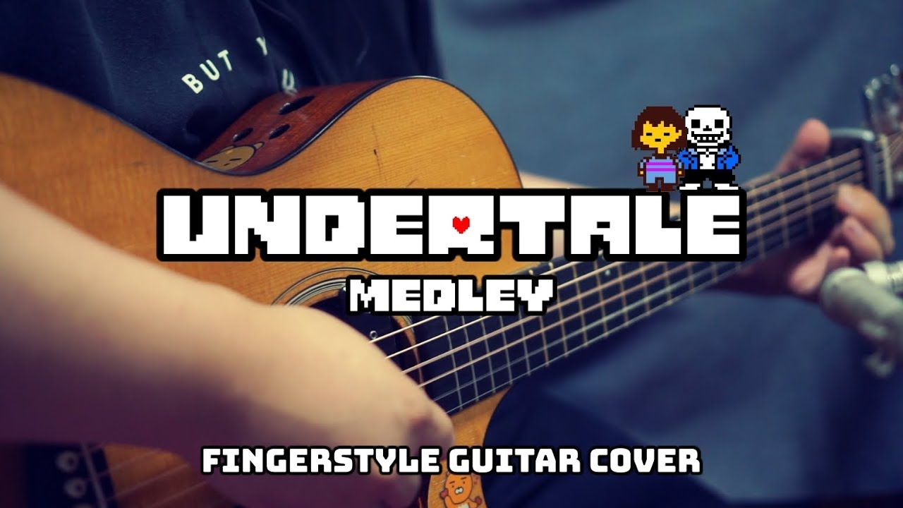 Undertale (언더테일) Medley on Acoustic Guitar COVER