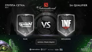 Pain vs Infamous, The International SA QL [Lum1Sit, Mortalles]