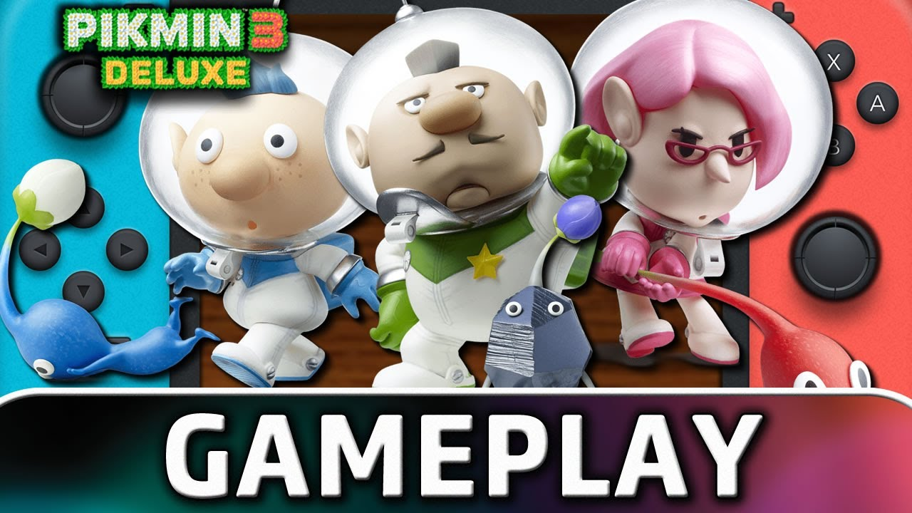 Pikmin 3 Deluxe | First 30 Minutes on Nintendo Switch
