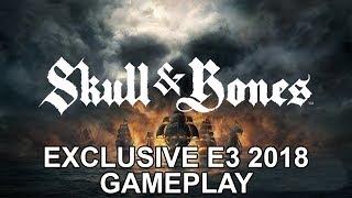 Skull & Bones - Exclusive E3 2018 Gameplay | DanQ8000