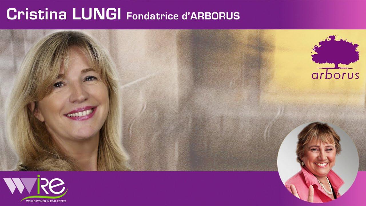 Interview Cristina Lunghi Fondatrice d'ARBORUS pour le 8 mars 2021 journée internationale de la Femme