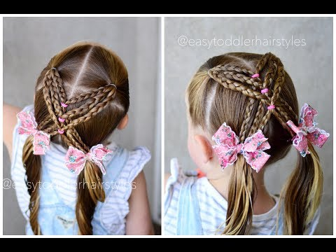 Braid hairstyles - Braided X Pigtail Hairstyle