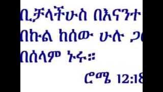 Deacon Ashenafi Mekonen በሰላም ኑሩ) Beselam Nuru Part 2
