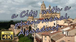 Segovia Spain  City new picture : Segovia, Aqueduct and Old City - Spain 4K Travel Channel