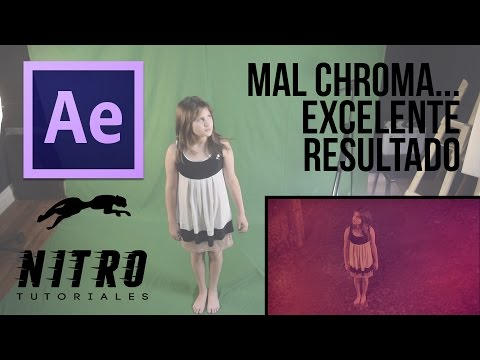 Chroma Perfecto - Tutorial Chroma After Effects CC 2014 - Nitro Tutoriales