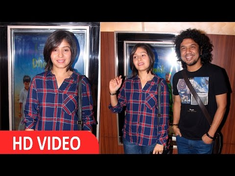 Sunidhi Chauhan Ai Screening Of Film Dhanak