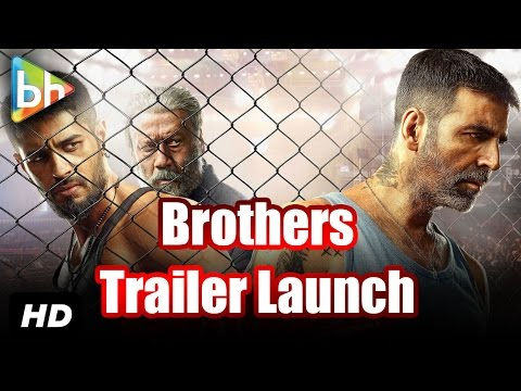 Akshay-Sidharth-Jacqueline At The Trailer Launch Of 'Brothers'