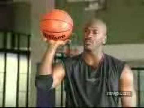 Micheal Jordan's free throw tutorial