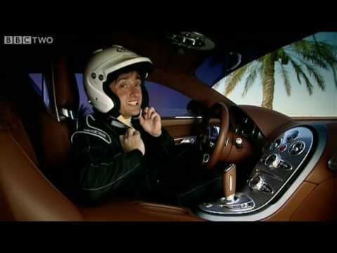 Bugatti Veyron v. McLaren F1 Drag Race - Top Gear