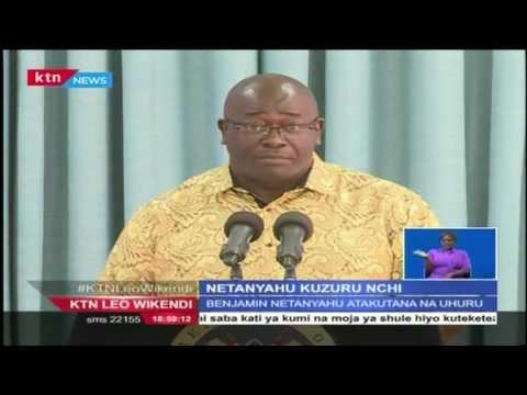 Waziri mkuu wa Israeli Benjamin Netanyahu atarajiwa kuzuru Kenya wiki mbili zijazo