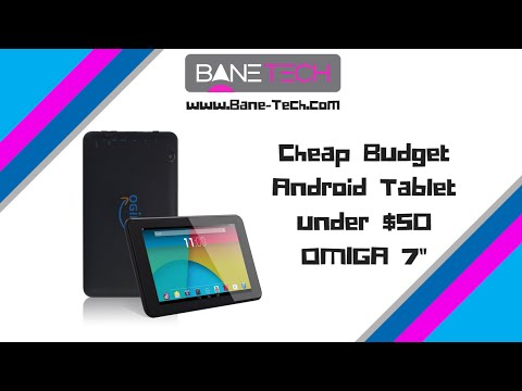 Cheap Budget Android Tablet - Ogima 7