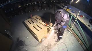 Видео Тест отрезного круга Abraflex A-30 Standart BF 125x1,0х22,23