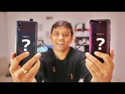 Vivo Nex Vs OPPO Find X Comparison - What's The Best For Your Money?