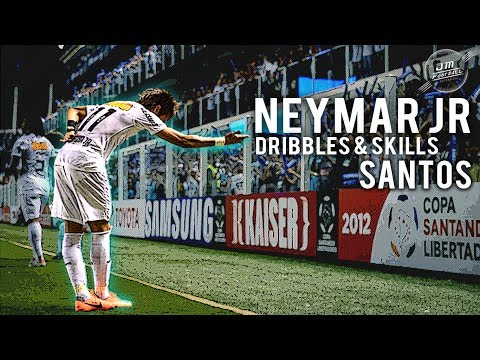 Neymar Jr   Dribbles & Skills Santos   HD