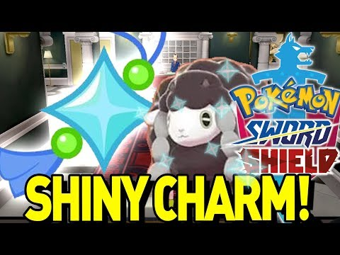 How to get the SHINY CHARM in Pokemon Sword and Shield! Shiny Charm, Oval Charm, Catching Charm!