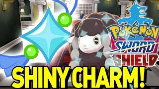 How to get the SHINY CHARM in Pokemon Sword and Shield! Shiny Charm, Oval Charm, Catching Charm! by aDrive