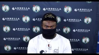 Jaylen Brown Touches On Racism In America In Press Conference | August 2, 2020 by Bleacher Report
