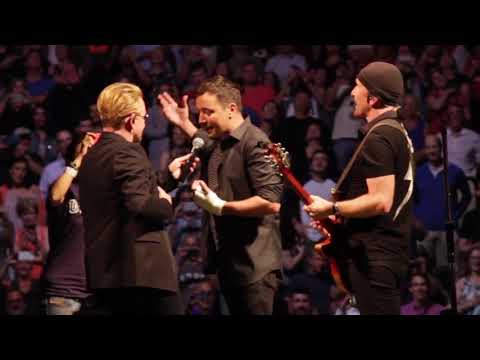 U2 Performs Desire with Jimmy Fallon