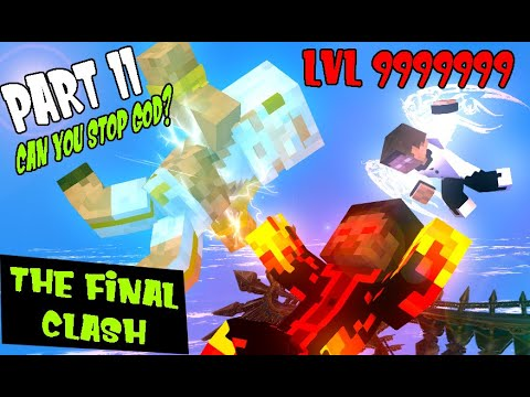MONSTER SCHOOL SEASON2 : PART 11 THE FINAL CLASH OF LEGENDS GOD  -MINECRAFT ANIMATION