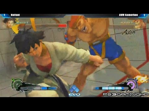adon - EVO 2013 Super Street Fighter 4 Arcade Edition Top 8 Losers Bracket: Haitani (Makoto) vs Gamerbee (Adon)