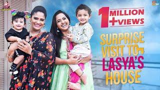 Surprise Visit To Lasya's House || Lasya Interview || BigBoss Season 4